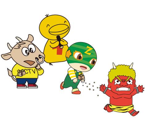ケーブルテレビ各社のキャラクター